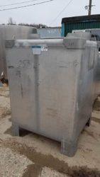 Емкость нержавеющая,  объем — 1, 5 куб.м.